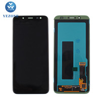 Wholesale J6 Cell Phone LCD Touch Screen Display Digitizer Assembly For Samsung Galaxy J6 J600 Pantalla Ekran