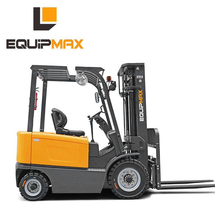 China new 3ton Electric four wheel forklift with 5m lifting height with sideshift