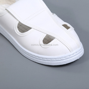 ESD/ Antistatic Cleanroom Canvas 4 holes shoes