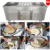 2017 New Style -30 C degree Fried Ice Cream Machine double pan roll cold plate