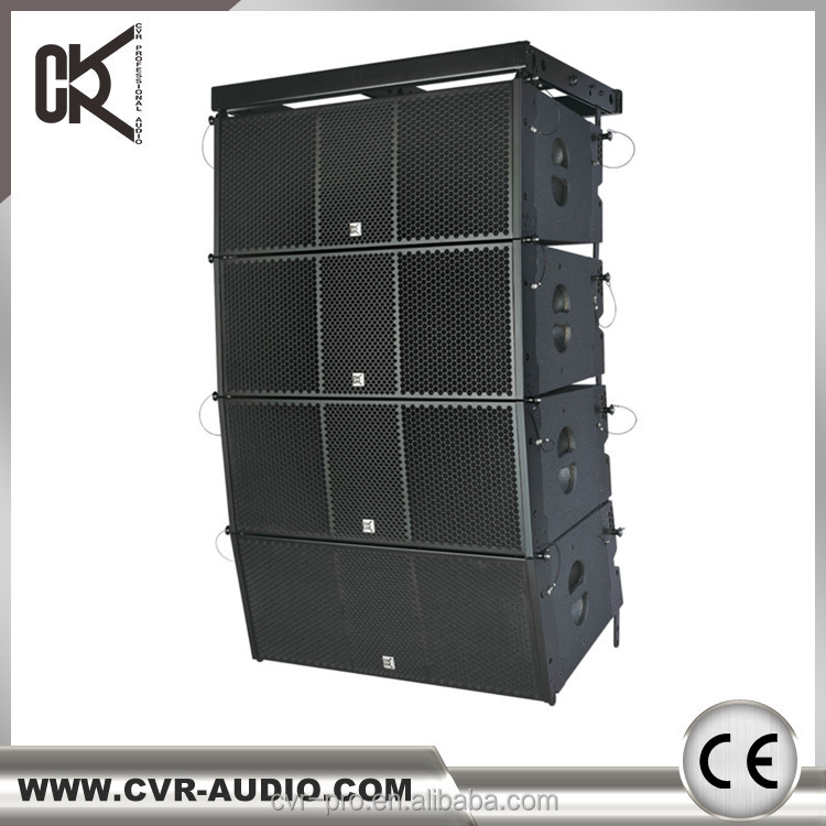 2017 CVR active line array+portable+active pa system+professional pa speaker