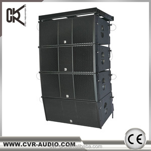 2018 CVR active line array+portable+active pa system+professional pa speaker