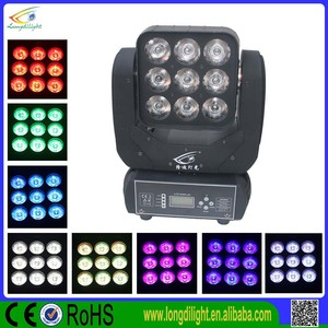 9*10w Led Beam Light Matrix Lamp Led Moving Head Light DJ Led Stage Moving Head