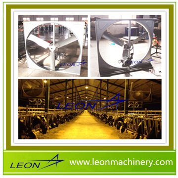 LEON brand tunnel ventilation fan for cattle farm