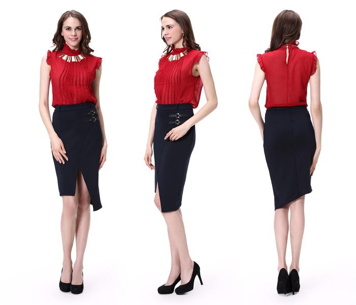 New Designs Las Office Uniform Women Skirts View