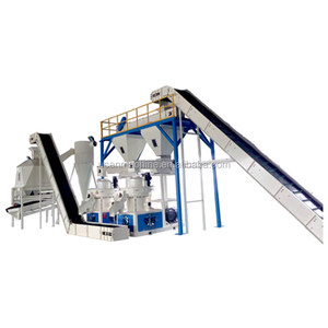 Complete Wood Pellet Production Line Price/Straw Pellet Production Line