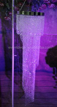 Spiral Crystal Chandelier For Wedding Decortations Table Top Centerpieces Weddings