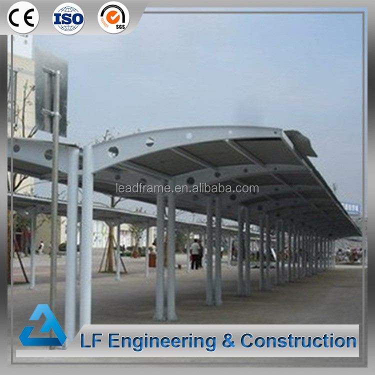 Easy Installation space frame metal garage building