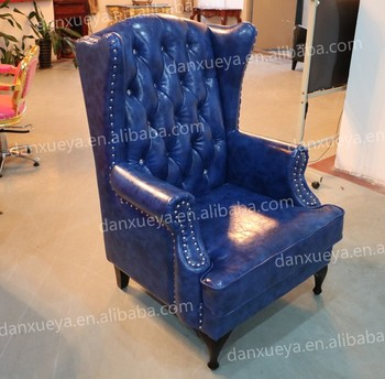 American Style Navy Blue Leather Chesterfield Small Sofa For Small Apartment Buy Small Sofa Chesterfield Small Sofa Navy Blue Leather Small Sofa