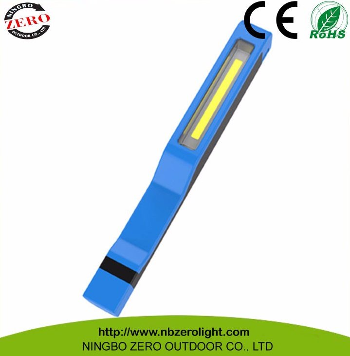 Multi-purpose Pen Shape COB led inspection lights with Magnetic Rotate Clip,inspection light