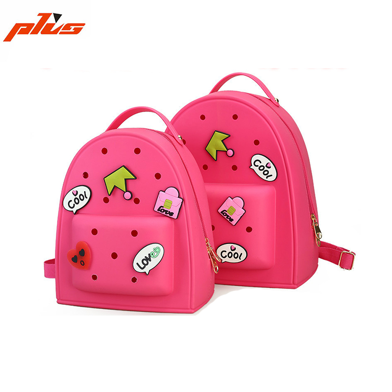 Whole Waterproof Silicone Cute Bag Candy Color S Backpack Pvc Jelly For Kids Bags Product On Alibaba