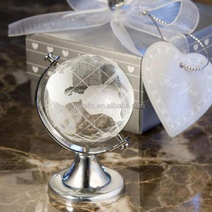 Wedding Return Gifts Globe Tellurion Crystal Gift