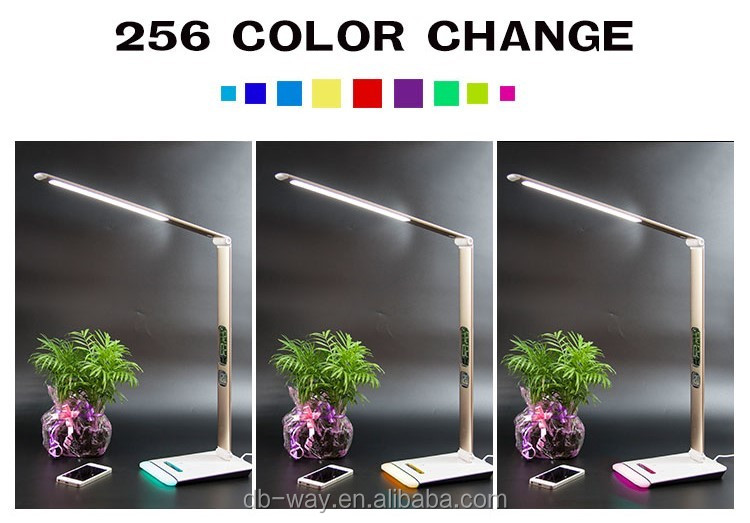 Modern Led Table Lamp 3 Mode Light Option With Touch Pannel And ...