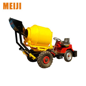SD800 good quality concrete mixer ,mobile concrete mixer with pump