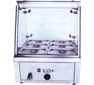 Top quality supermarket chain store counter top bain marie
