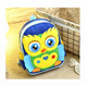2018 New Style Cheap Kids Backpack School Bag Owl Cartoon Bagpack for Girl and Boy