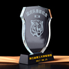 New arrival personalized crystal trophy art glass craft figurine collectible