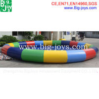 Super quality customized round inflatable pvc swimming pool