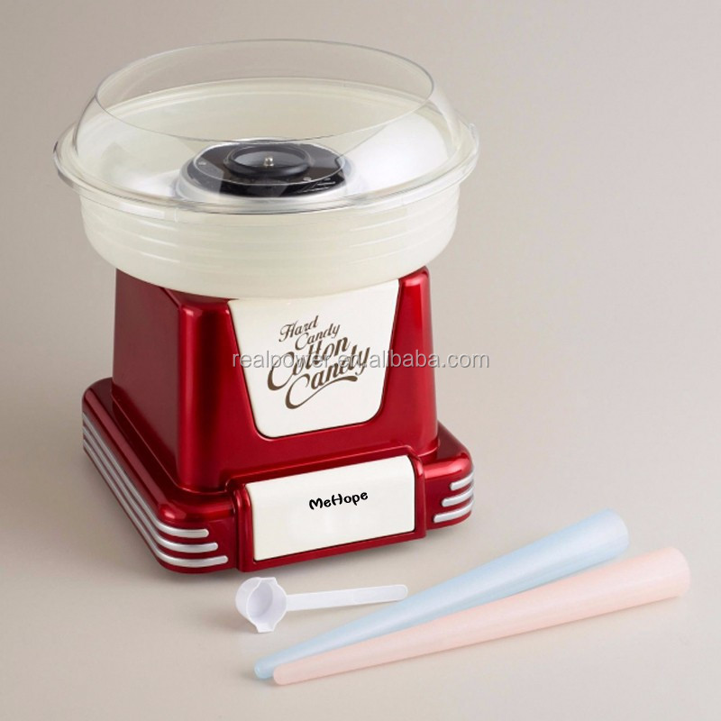 ענק ללא סוכר להכנת צמר גפן מתוק / עושה מכונת צמר גפן מתוק לשימוש ביתי YP-08
