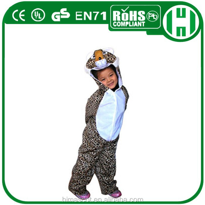 HI CE 2015 high quality cute baby clothes tiger costume for kids