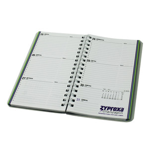 Top Quality Custom Design Print Notebook With Spiral / Wire-o Binding For Sale