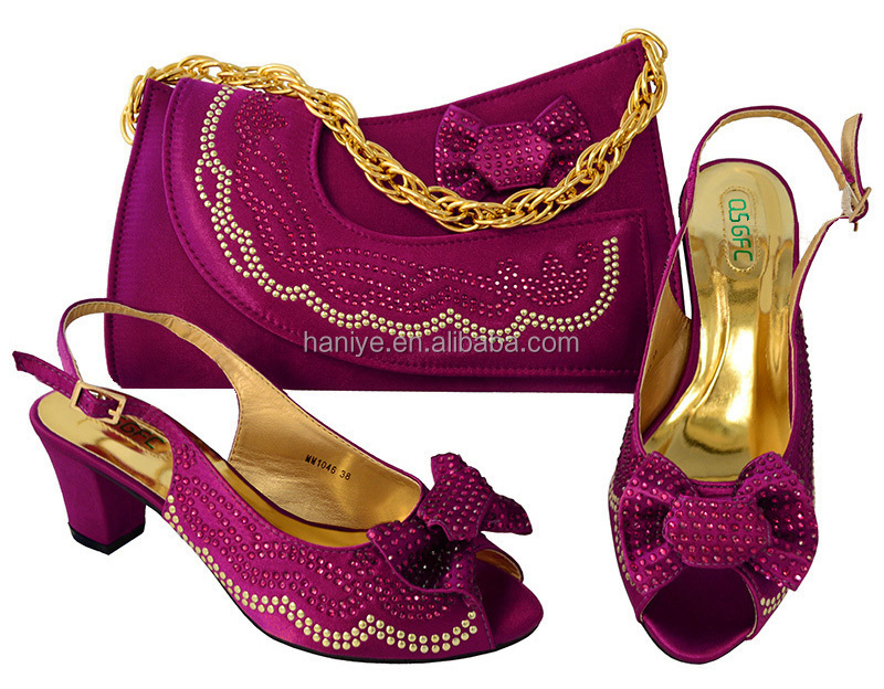 party for shoes shoes bag Lady bag heel high Fashion Italian set matching and high quality fWc4WvB