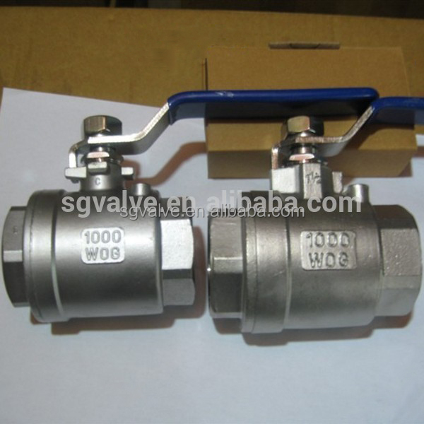 API Standard Stainless Steel Ball Valve