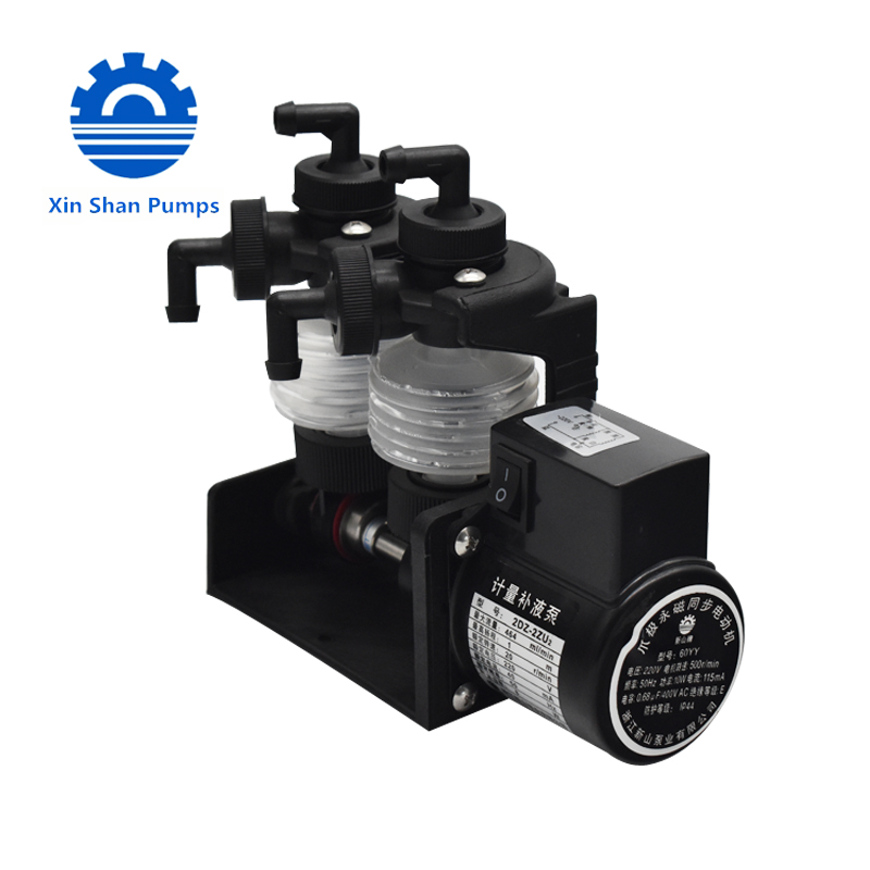 SISAN 2DS-2F mini liquid for boiler and swimming pool pumps dosing pump