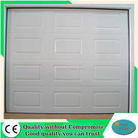Security Automatic Sectional Insulated Steel garage doors panels