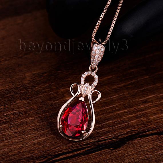 365ct natural diamond garnet pendantpear garnet pendant necklace 365ct natural diamond garnet pendantpear garnet pendant necklace in solid 14kt rose gold mozeypictures Choice Image