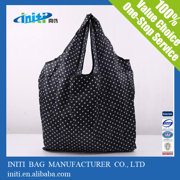 Polyester Material and Casual Shopping bag Style Foldable Travel Duffel Bag