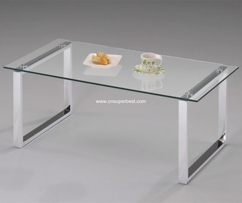 Top Office Use Plexigl Coffee Table With Metal