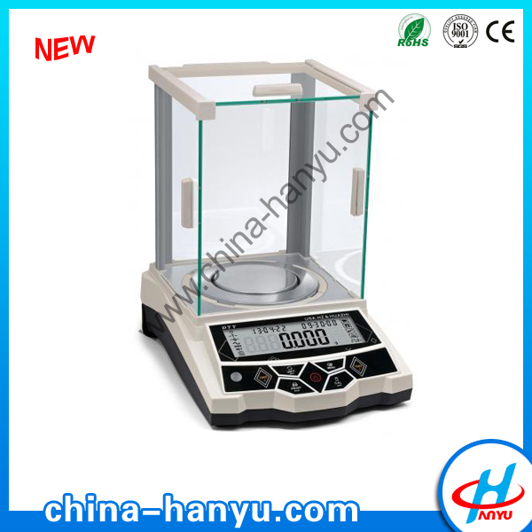 HY-DTY-A dual weighing with RS232 0.001g stable indurstry scales