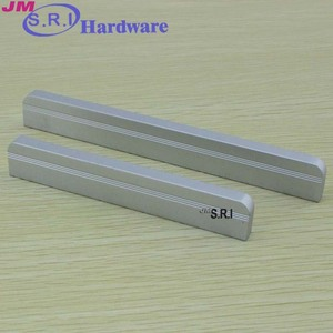 Modern zinc alloy oriental cabinet handle and knobs , recesse cabinet handle