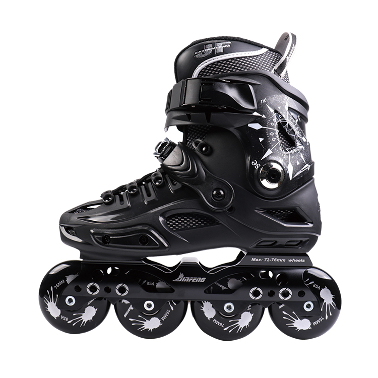 Nuovo Stile Freestyle 4 Ruote PU Size 35-44 # Rollerblade Pattini Pattini A Rotelle, pattini in linea All'ingrosso