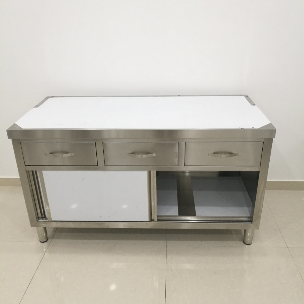Restaurant Equipment Cheap Outdoor Kitchen Stainless Steel Cabinet, View  cheap kitchen cabinets, Zhongkai Product Details from Shandong Binzhou ...