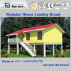3 bedroom 119mm thick wall tropical prefabricated houses log cabin with legs moisture proof from the ground