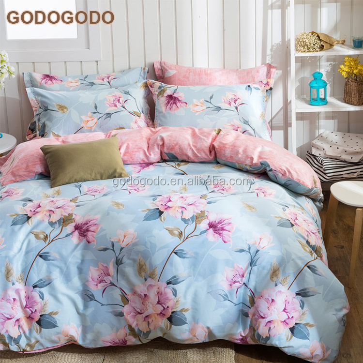 Professional Home Textile Super King Size Full Cotton Home Bed Sheet Bedding Set Made In China