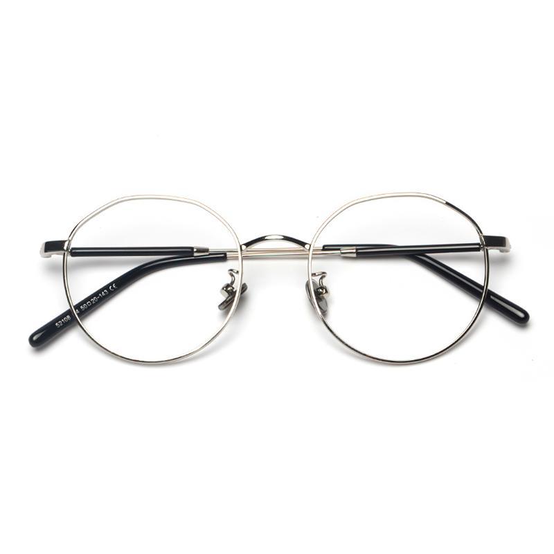 Guvivi oversize gafas marco óptico redondo irregular negro gafas de ...