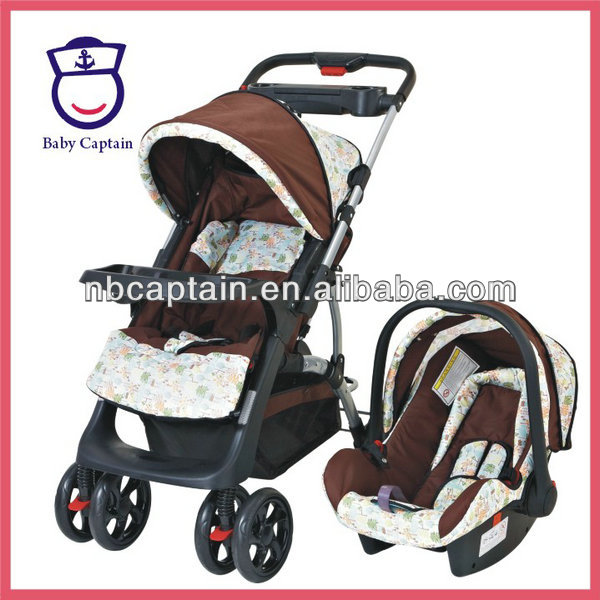 LUXURY TRAVEL SYSTEM BABY STROLLERS PUSHCHAIR STROLLER