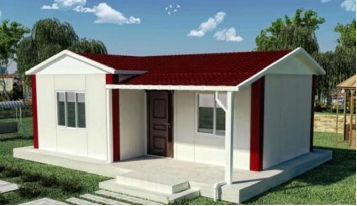 cheap warehouse k type modular prefab house for sale for