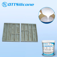 Factory price gypsum cement molding silicone rubber raw material, liquid silicone