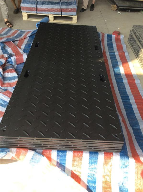 rubber ground mat hdpe protect road cover cushion the wheel in the sand