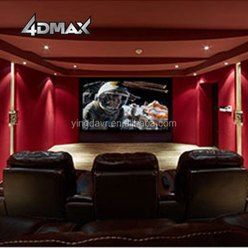 Europe Popular Amazing Exclusively 4d 3dof Home Movie Theater Seat