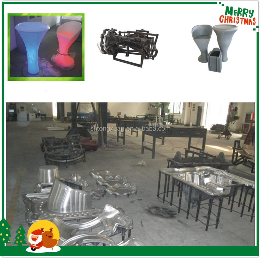 Oem Rotomoldeo Sof Muebles Pl Stico Llev Fabricantes De Mesa  # Muebles Rotomoldeo