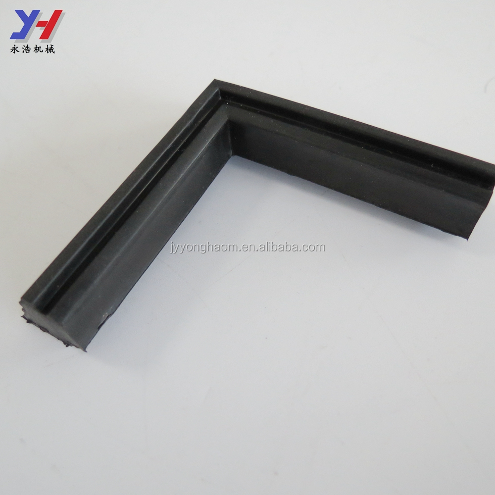 Customize rubber corner bumper front for trolley bumper