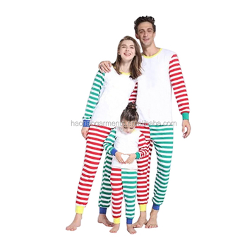 Wholesale Kids Red Green Striped Pajamas Baby Girs Outfits Christmas Mommy  and Dad Matching Family Set 1b14243f2