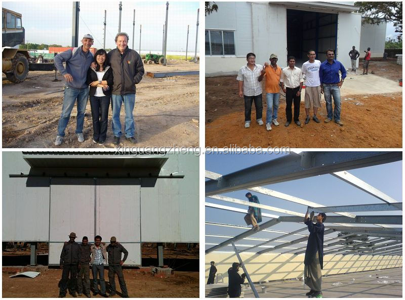 steel structure prefab barns for warehouse