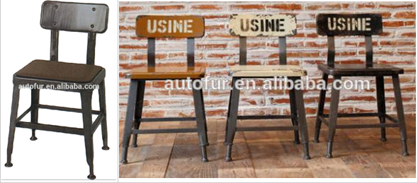 industrial style restaurant furniture. Industrial French Style Metal Wooden Restaurant Dining Chairwooden Chairs Furniture E