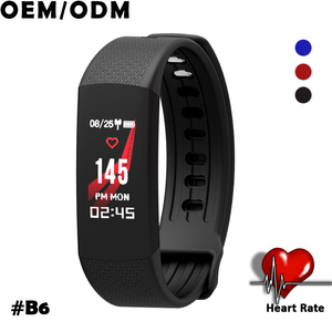 2018 trending color screen heart rate fitness tracker BT 4.0 portable ce pedometer